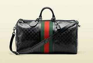 Gucci x Fiat Travelling bag