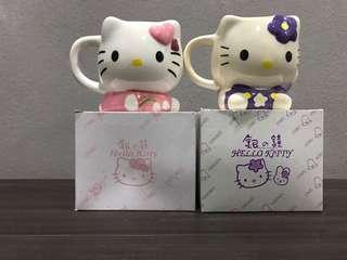 Limited Edition Hello Kitty Cups from Hokkaido Japan. ( Not available globally except Japan )