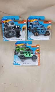 *Reserved*- Hot Wheels Land Rover and Jeep