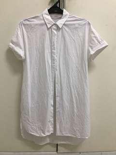 Zara trafaluc XS white shirt net price