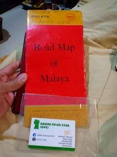 Collecter item for shell maps malaya 1958