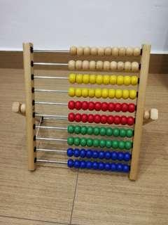 Ikea Wooden Abacus