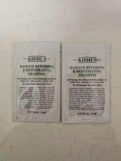 Kiehls shampoo sample