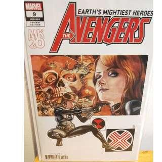 AVENGERS 9 JG JONES MKXX VARIANT NM