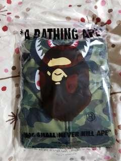 A Bathing Ape (BAPE) Camo Shark Full Zip Hoodie