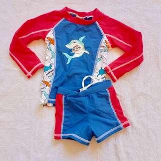 Toddler 2 piece swimwear