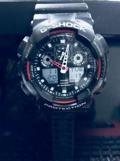 G-shock :- GA - 100