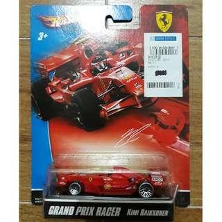 MOSC Hot Wheels Ferrari Kimi Raikkonen 2007 semi vintage