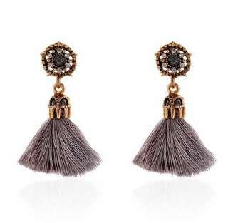 'Valencia' Classy Bohemian Tassel Earrings