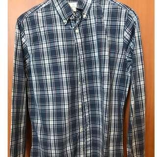 GAP plaid shirt size xs
