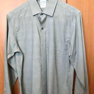 Brooks Brothers grey formal shirt size 15