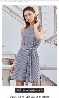 reylin gingham dress TCL