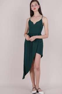 The Tinsel Rack Harlyn Asymmetrical Dress