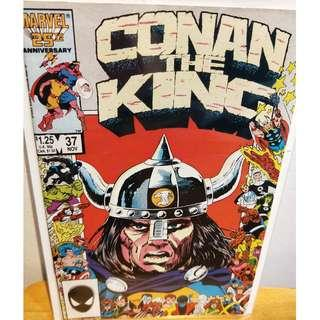 Conan The King 37 • Marvel 25th Anniversary Frame Cover