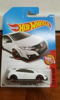 Hot Wheels '16 honda civic type r