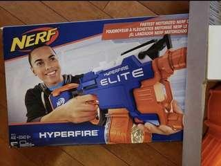 Brand New Nerf N-STRIKE Elite Hyperfire Blaster Toy