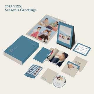 [EMS PO / SG GO Interest Check] VIXX 2019 Official Season Greeting