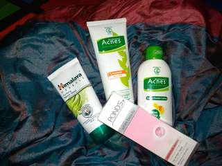 TAKE ALL ACNES PRODUCTS & HIMALAYA MASK