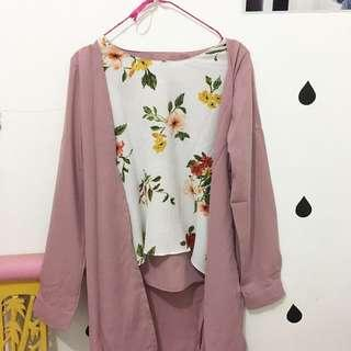 Outer + blouse
