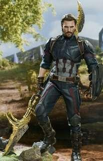 *Last PO Slot* Hot Toys AVENGERS INFINITY WAR CAPTAIN AMERICA (MOVIE PROMO EDITION) 1/6TH SCALE COLLECTIBLE FIGURE