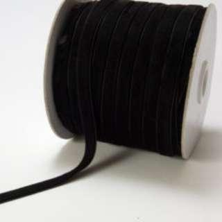 Black Velvet Ribbon DIY Supply