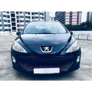 Peugeot 308 1.6 Station Wagon Turbo Glass Roof Auto