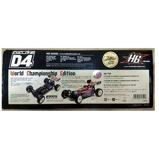 HPI HotBodies Cyclone D4 World Champion Edition 1/10 4WD Buggy (Vintage Collection)