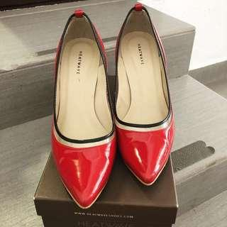 Heatwave Red 3 inchs High Heels