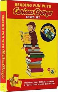 Curious George Early Reader 6 books