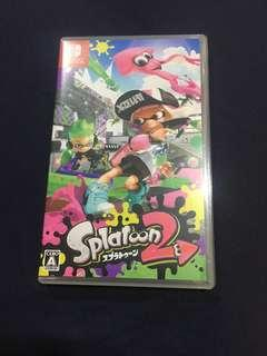 🚚 Nintendo Switch Splatoon 2漆彈大作戰