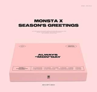 Monsta X Season's greetings