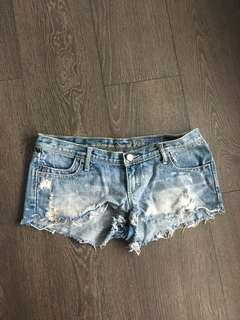 Abercrombie and Fitch Denim Shorts Size 2