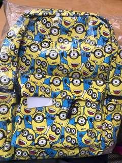 Minions Design Backpack