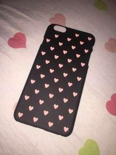 Full heart matted case for 6s and 6s plus