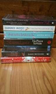 English Fiction novels