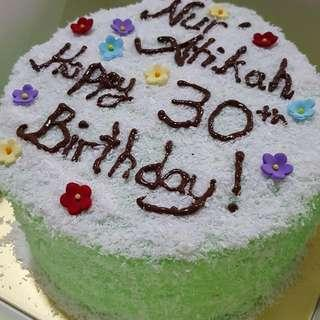 Ondeh-Ondeh Cake💚