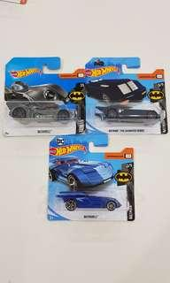 Hot Wheels Batmobile cars