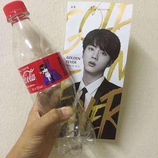 BTS V Coca-Cola with JIN brochure