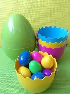 Easter Giant Egg + Eggs in a Pail