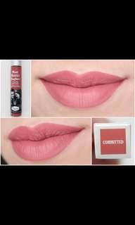 The Balm shade Comitted
