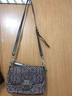 Coach sling/clutch bag