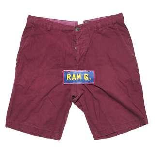 H&M Divided Maroon Shorts for men