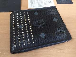 Authentic MCM wallet limited addition black full set