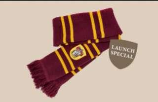 Gryffindor Scarf (Changi Airport's Wizarding World Holiday launch) - limited edition - brand new