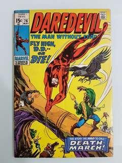 Daredevil (vol.1) #76 El Condor