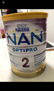 (New) Nestle nan optipro 2 - 800g