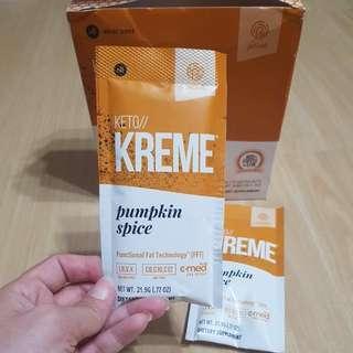 Pruvit Keto Kreme Seasonal Flavour Pumpkin Spice