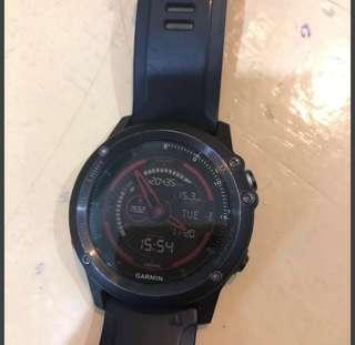 Preloved Garmin Fenix 3 HR Watch (Sapphire)