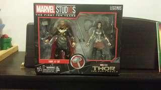 MARVEL LEGENDS LADY SIF & THOR UNOPENED 6 INCH