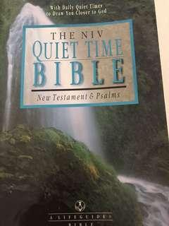 Quiet Time Bible and Others